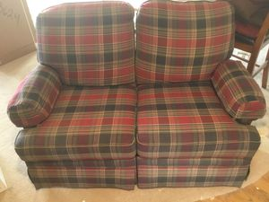Reclining Loveseat and Sofa Bed. for Sale in Escondido, CA