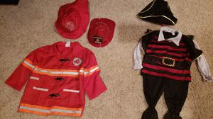 Pirate and fireman costumes for kids for Sale in Frederick, MD