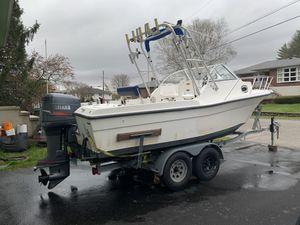 2001 Pro Sport 2200WA - Walk Around Fishing Boat for Sale in Waterbury, CT