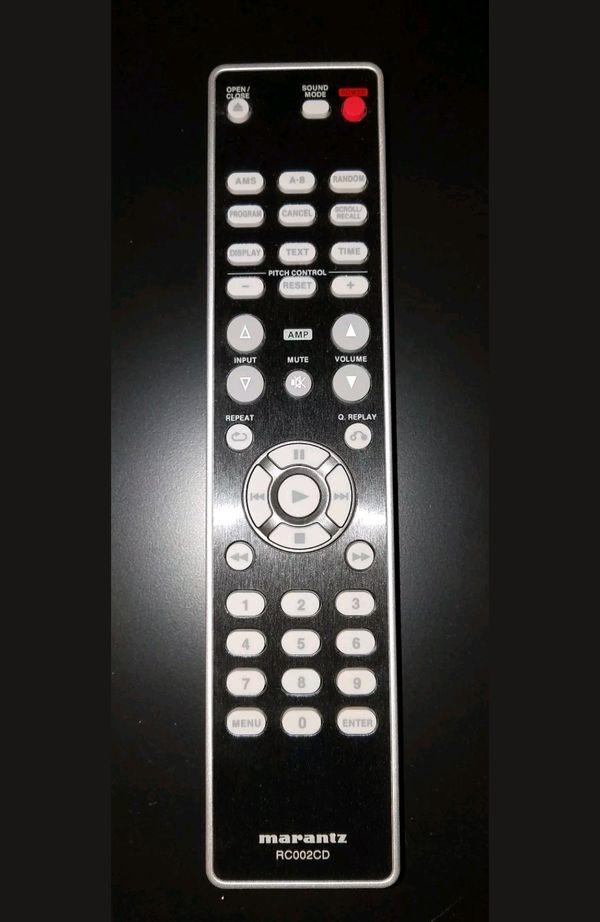 Marantz CD5004 CD/MP3/WMA Player w/ Remote for Sale in Niagara Falls, NY -  OfferUp
