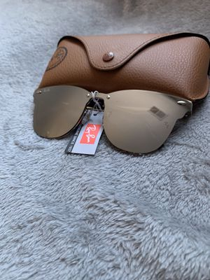 New Version Clubmasters Silver Sunglasses for Sale in Santa Clara, CA