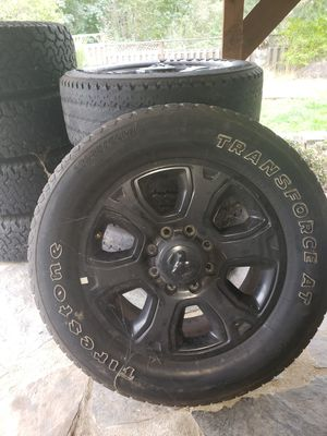 2015 dodge laramie rims and bald tires for Sale in Oregon City, OR