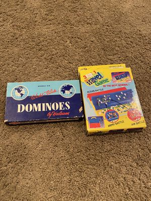 Set of 2 Kids Games/ Toys/ Dominoes/ Travel Game for Sale in Seal Beach, CA