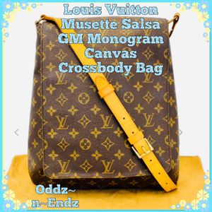 🧡Louis Vuitton Musette Salsa GM Monogram Canvas Crossbody Bag🧡 for Sale in Beverly Hills, CA