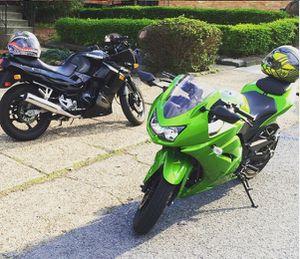 Kawasaki Ninja PACKAGE DEAL STEAL! for Sale in Pittsburgh, PA