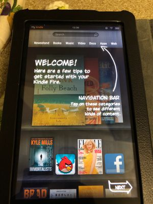 Amazon kindle fire tablet for Sale in Dallas, TX