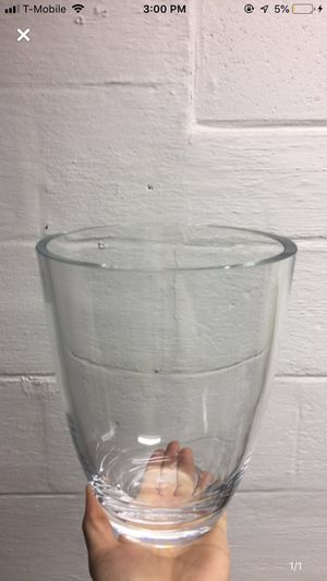 Glass Flower Vase for Sale in Dearborn, MI