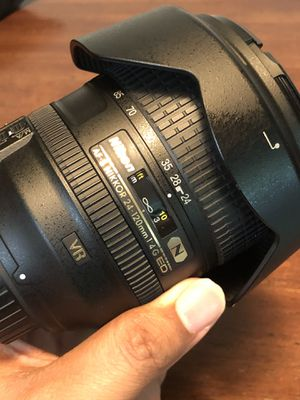 Nikon Nikkor 24-120mm f1/4 Lens for Sale in Fairlawn, OH