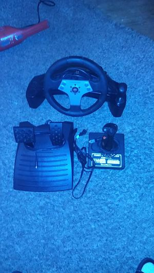 Nascare pro digital racing whell. It a game for Sale in Las Vegas, NV