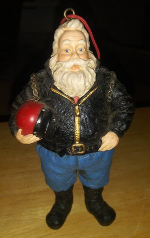 Bike santa & 11 other ornaments for Sale in Wichita, KS