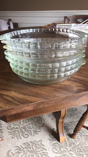 Pyrex pie plates for Sale in North Olmsted, OH