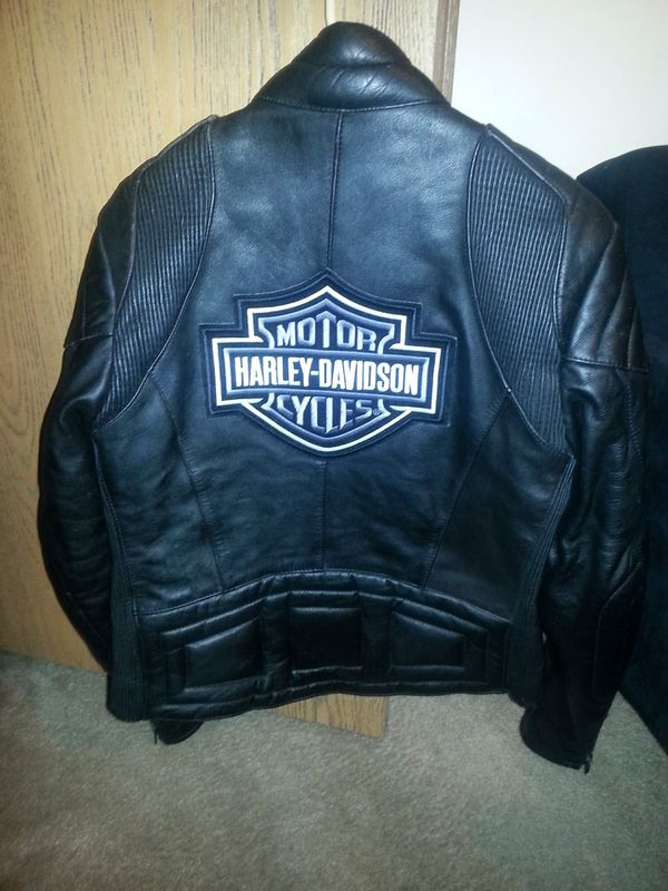 Womens Harley Davidson leather coat