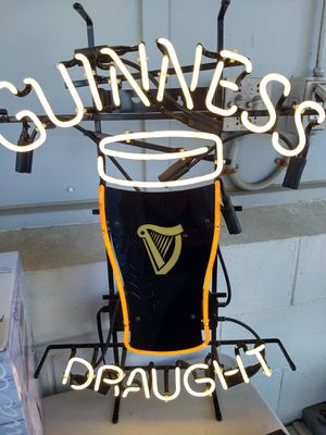 Guinness Draught Neon sign for Sale in Los Osos, CA