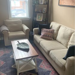 Pottery Barn Couch And Chair for Sale in Baltimore,  MD