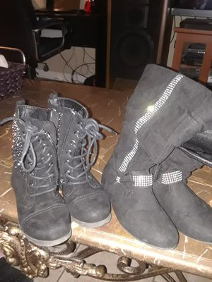 2 pair girls boots size 13 for Sale in Metairie, LA