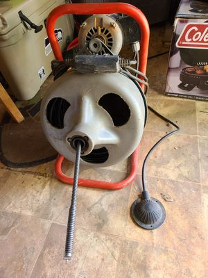 Ridgid drain cleaner for Sale in Moriarty, NM