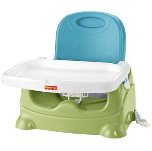 Fisher-Price Healthy Care Booster Seat, Green/Blue for Sale in Chino, CA