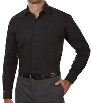 Van Heusen Men's Shirt Regular Fit Poplin Solid for Sale in Berkeley, IL