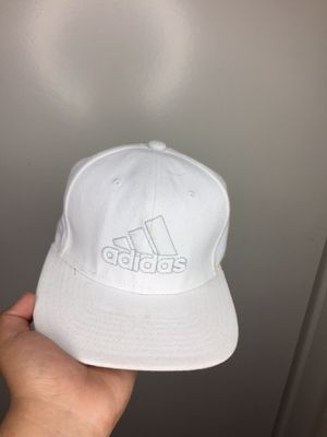 Adidas white hat for Sale in Rancho Dominguez, CA