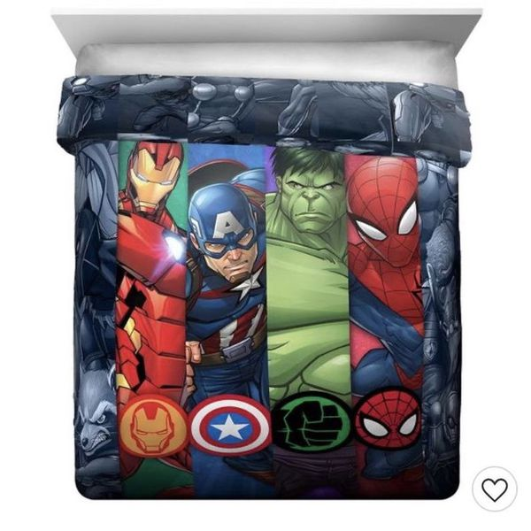 Avengers Twin Entire Bedroom Set (Furniture Included)