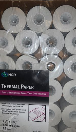 23 rolls ofThermal paper for Sale in Hemet, CA