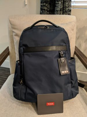TUMI Clayton BackPack Black / Blue | Like New for Sale in Cerritos, CA
