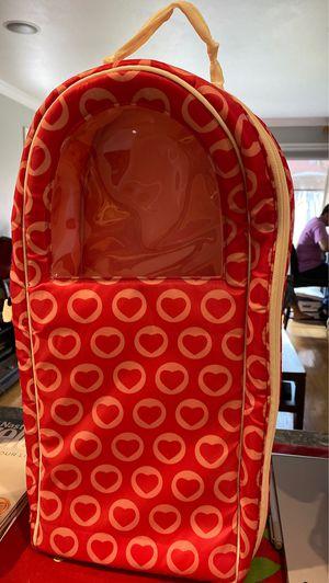 American Doll carting case back pack for Sale in Santa Clara, CA