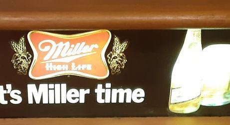 Miller High Life Beer Sign for Sale in Port Charlotte,  FL