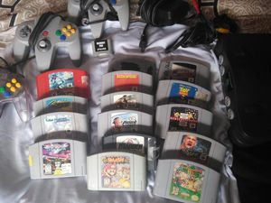 Nintendo 64 original for Sale in Stockton, CA