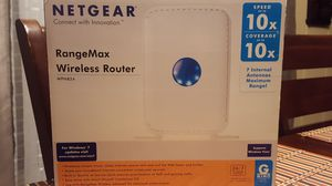 Netgear RangeMax WPN824 Router for Sale in Hacienda Heights, CA