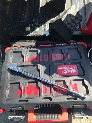 Snap on ratchet. Part # FLLF80 I bought it for $199 new. for Sale in San Diego, CA