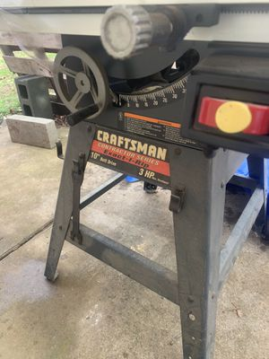 Craftsman table saw for Sale in Unionville, NC