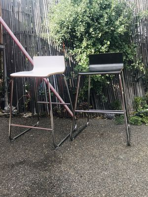 2 Ikea Modern Barstools Great Cool Comfy for Sale in Los Angeles, CA