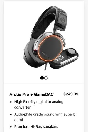 Arctis Pro + Game DAC Hard Case Extra Ears for Sale in Los Angeles, CA