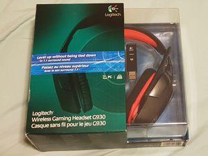 Logitech G930 Wireless 7.1 surround sound headset for Sale in Renton, WA