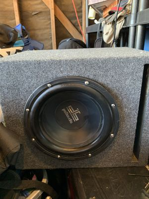 10 inch Polk audio sub in box for Sale in Fremont, CA