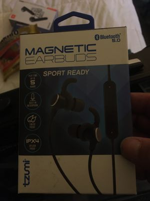 Magnetic earbuds Bluetooth headphones for Sale in Phoenix, AZ