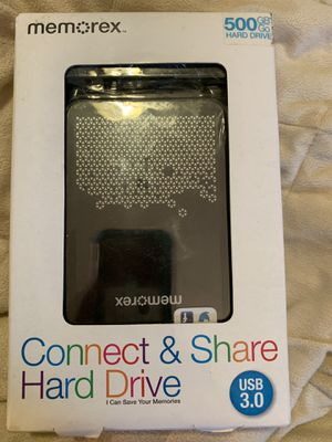 New Memorex connect and share hard drive for Sale in Virginia Beach, VA
