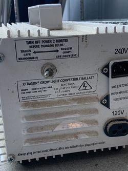 Grow Light Convertible Ballast - XTRASUN for Sale in Palos Verdes Estates,  CA