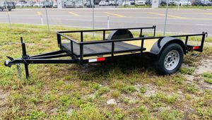 5x10 Single Axle Utility Trailer for Sale in Tampa, FL