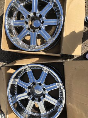 2 Rims Chrome for Sale in Las Vegas, NV