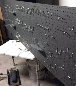 Peg board with 90 pieces for Sale in Phoenix, AZ