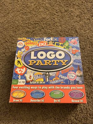 Logo Party Board Game for Sale in Colorado Springs, CO