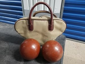 Vintage Brunswick duckpin bowling balls for Sale in Baltimore, MD