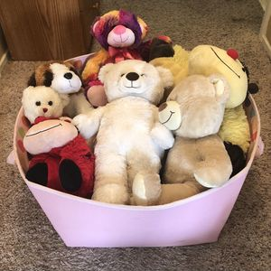 Pink Bin of Teddy Bears for Sale in El Sobrante, CA