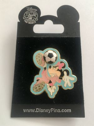 Disney Sports Series Collection Pin Minnie Mouse Soccer for Sale in West Valley City, UT