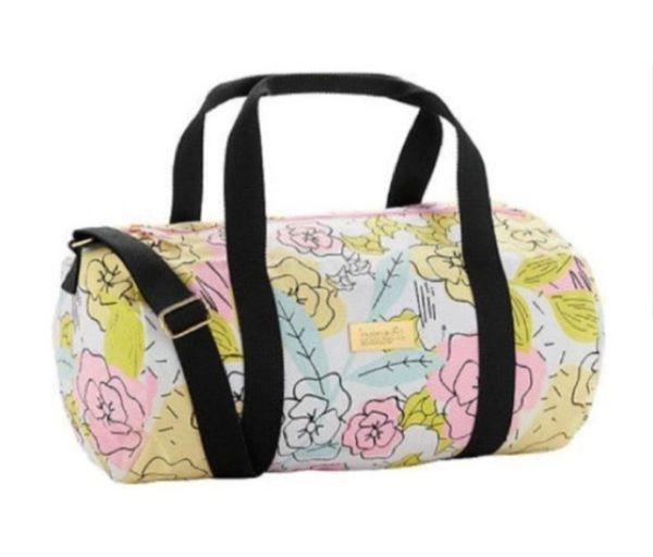 NEW Benefit Cosmetics Floral Duffel Bag