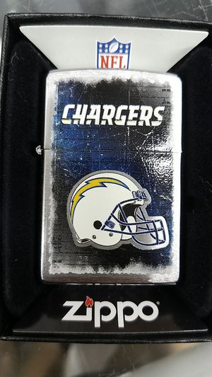 Zippo NFL San Diego chargers brushed chrome 28203 for Sale in Los Angeles, CA