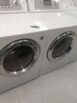 Lg tromm washer and dryer used good condition 90days warranty for Sale in Mount Rainier, MD