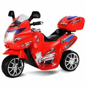 TY327423RE 3 Wheel Kids Ride On Motorcycle 6V Battery Powered Electric Toy Power Bicyle New-Red for Sale in Santa Ana, CA